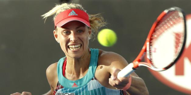 Angelique Kerber gewann die Australian Open. Jetzt schlägt sie bei dem WTA-Turnier in Rom auf