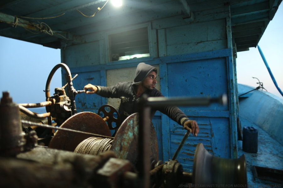 pescador gaza