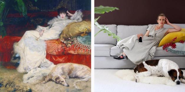 Les artistes d'Instagram revisitent des classiques de l'art