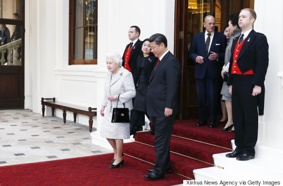 queen elizabeth xi jinping