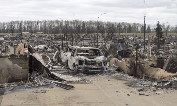 fort mcmurray fire damage