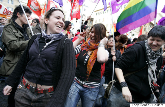 italy gay civil union