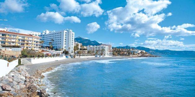 La Costa del Sol, dans le sud de l'Espagne.