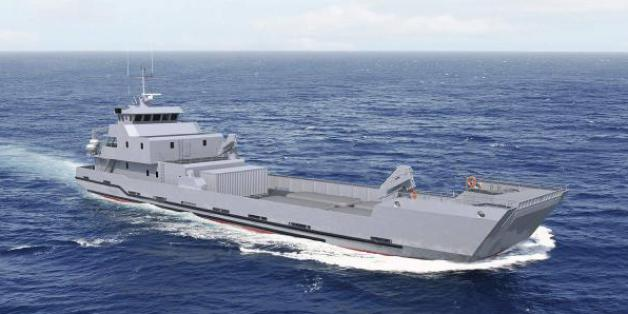 Un modèle de navire semblable à celui commandé par le Maroc.