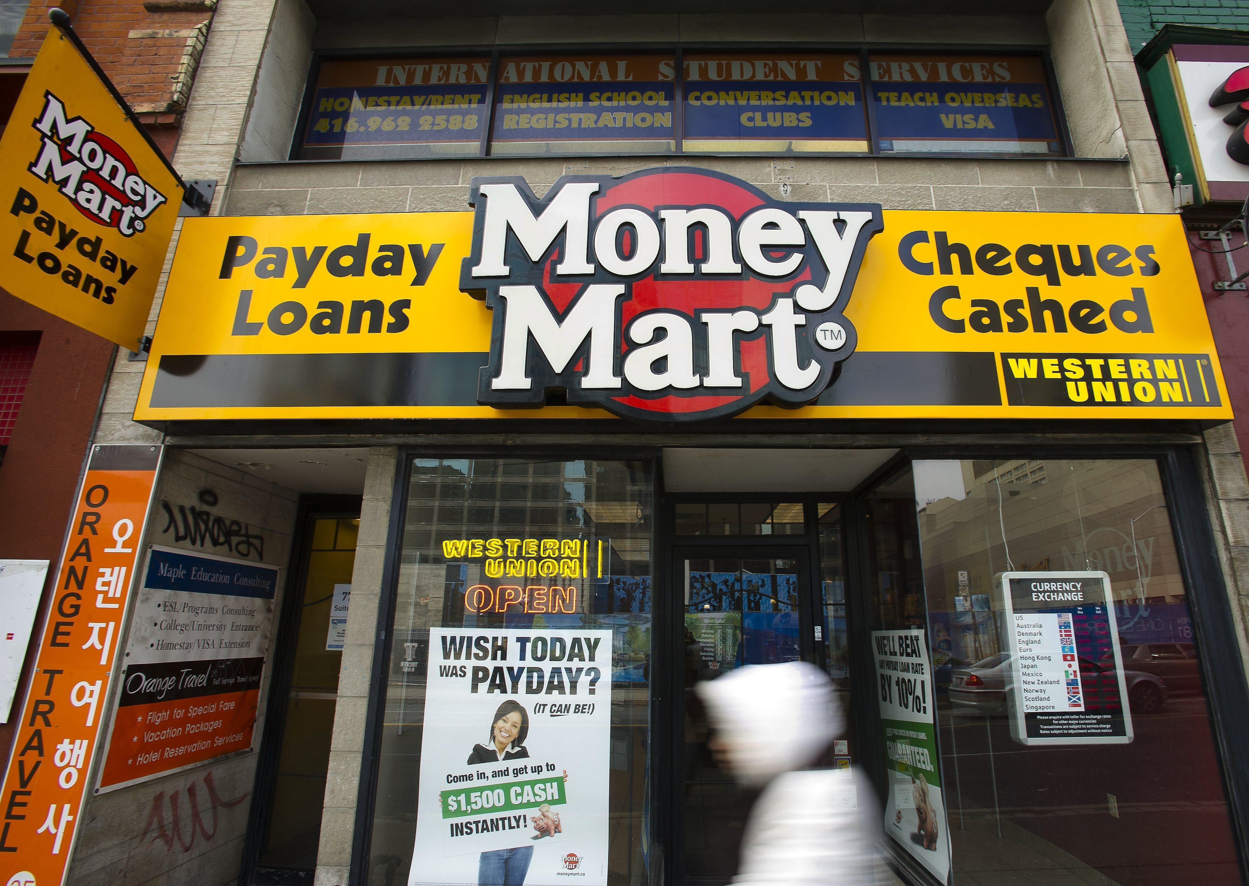 money mart payday lender