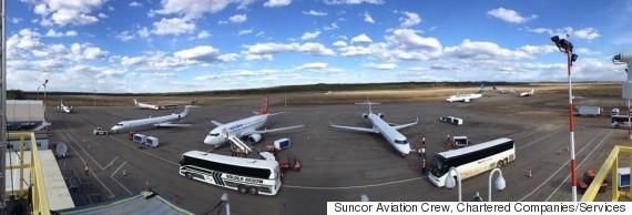 suncor aviation crew