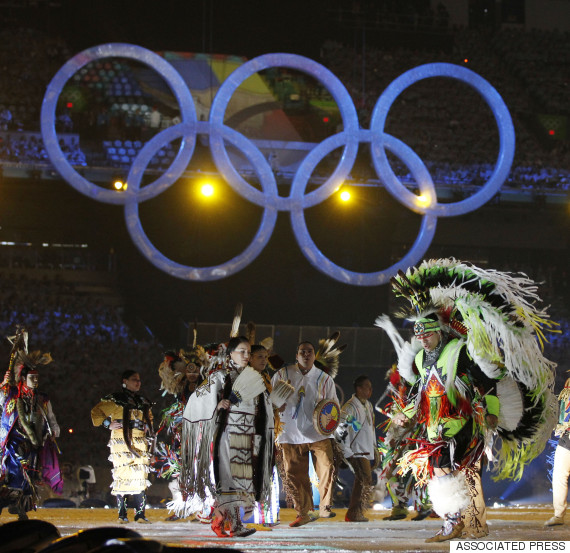 vancouver olympics aboriginal