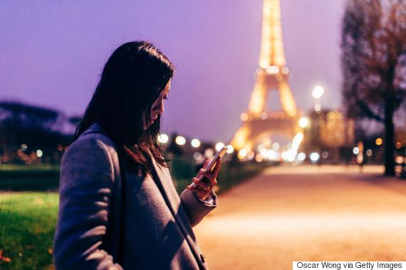 paris mobile phone