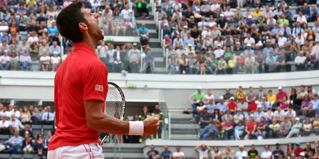 Novak Djokovic ist Weltranglistenerster und will bei den Italian Open weiterhin jubeln können