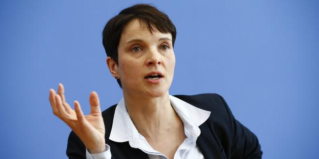AfD-Chefin Frauke Petry wurde vom französischen Front National eingeladen