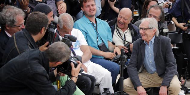 Quand Ken Loach réveille un photographe endormi à Cannes