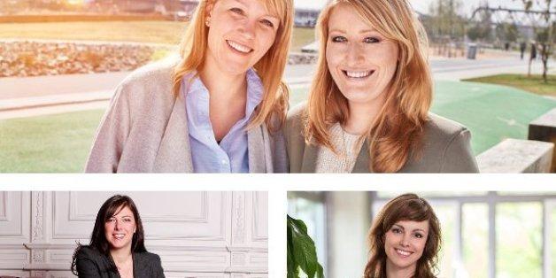 Die Gründerinnen Andrea Pfundmeier, Claudia Helming, Anna Alex und Julia Bösch