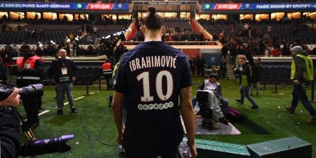 Zlatan Ibrahimovic après PSG-Nantes le 14 mai 2016