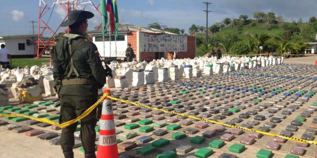 Der Rekord-Kokainfund von gut acht Tonnen Kokain