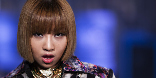 Minzy, a member of the South Korean band 2NE1, poses for a portrait in New York August 20, 2012. REUTERS/Lucas Jackson (UNITED STATES - Tags: SPORT ENTERTAINMENT HEADSHOT)
