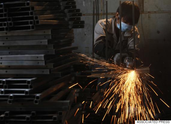 robots china factory