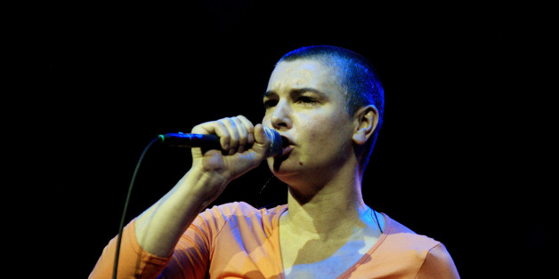 Irish Singer Sinead O'Connor performs at the East Coast Blues and Roots Festival in Byron Bay, Australia, Thursday,  March 21, 2008. (AP Photo/Marilia Ogayar)