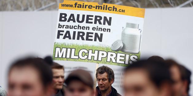 Bauern in Bedrängnis: Milchpreis fällt erstmals unter 20 Cent