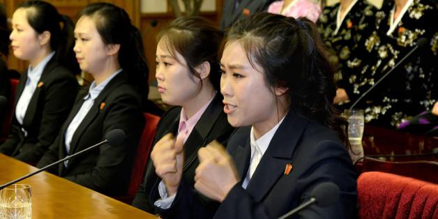 북한 조선중앙통신은 우리 정부가 북측 종업원들을 집단 유인, 납치했다고 주장하며 규탄 기자회견을 3일 인민문화궁전에서 열었다고 보도했다.