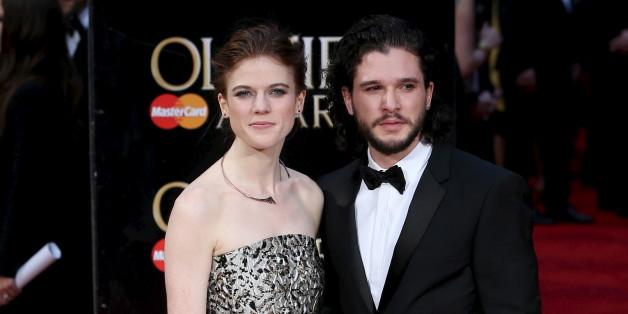 """Kit Harington verliebte sich während der Dreharbeiten zu """"Game of Thrones"""" in Rose Leslie"""