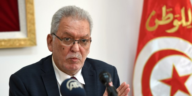 Kamel Jendoubi, the minister who heads a crisis group set up after the jihadist attack that killed 38 tourists last month in the Tunisian resort of Port El Kantaoui, gives a press conference on July 11, 2015 in the capital Tunis. AFP PHOTO / FETHI BELAID        (Photo credit should read FETHI BELAID/AFP/Getty Images)