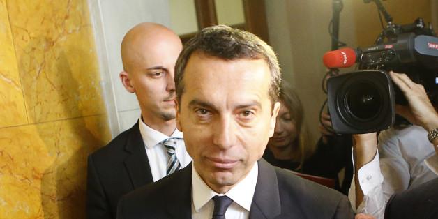 Der neue österreichische Bundeskanzler Christian Kern