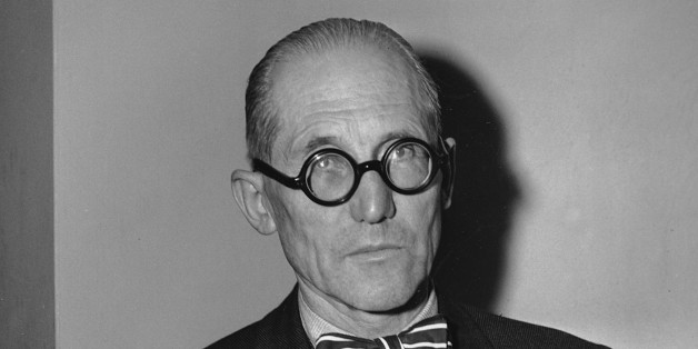 A 1947 photo of Charles Le Corbusier, internationally known French architect, planner and designer. (AP Photo)