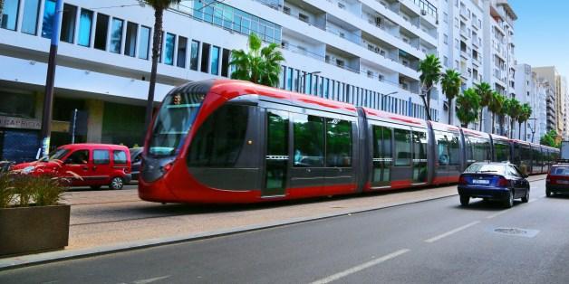 Le tramway de Casablanca