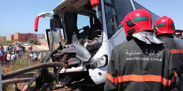 Un autocar se renverse près de Mohammedia