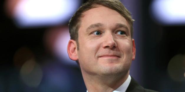 André Poggenburg könnte am Samstag den Parteivorsitz verlieren