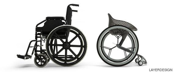 fauteuil roulant sur mesure
