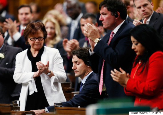 house of commons trudeau