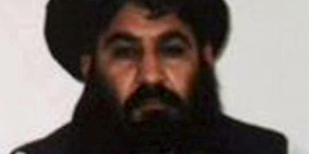 Taliban leader Mullah Akhtar Mohammad Mansour is seen in this undated handout photograph by the Taliban.  Taliban Handout/Handout via Reuters/File Photo  ATTENTION EDITORS - THIS PICTURE WAS PROVIDED BY A THIRD PARTY. REUTERS IS UNABLE TO INDEPENDENTLY VERIFY THE AUTHENTICITY, CONTENT, LOCATION OR DATE OF THIS IMAGE. THIS PICTURE IS DISTRIBUTED EXACTLY AS RECEIVED BY REUTERS, AS A SERVICE TO CLIENTS. FOR EDITORIAL USE ONLY. NOT FOR SALE FOR MARKETING OR ADVERTISING CAMPAIGNS.      TPX IMAGES OF