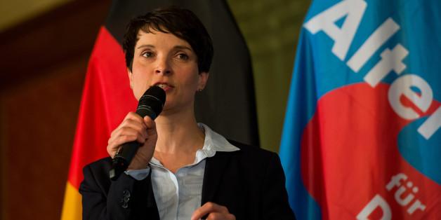 Frauke Petry bei einem Auftritt in München