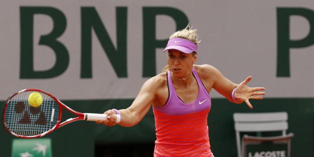 Sabine Lisicki spielt am Sonntag bei den French Open in Paris