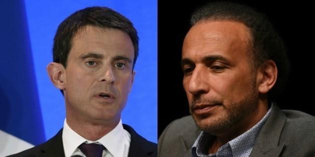 """Pour Manuel Valls, il n'y a """"aucune raison"""" de donner la nationalité française à Tariq Ramadan"""