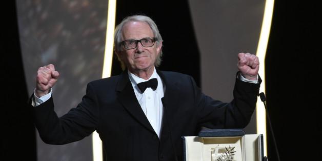 """La Palme d'Or a été décernée à Ken Loach pour """"Moi, Daniel Blake"""" lors du Festival de Cannes 2016"""