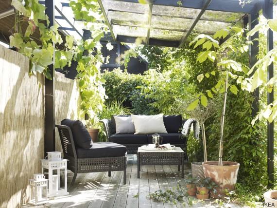 C mo reconvertir tu terraza sin hacer una gran inversi n - Macetas pared ikea ...