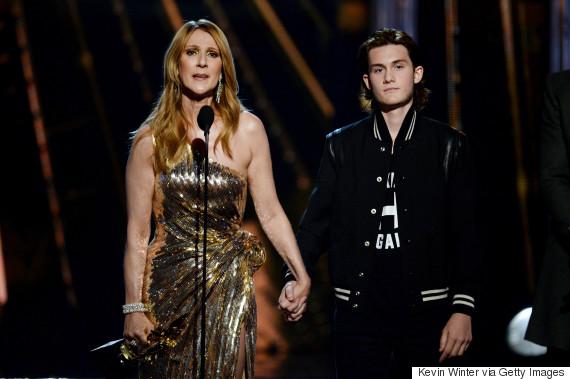 celine dion rene charles billboard music awards
