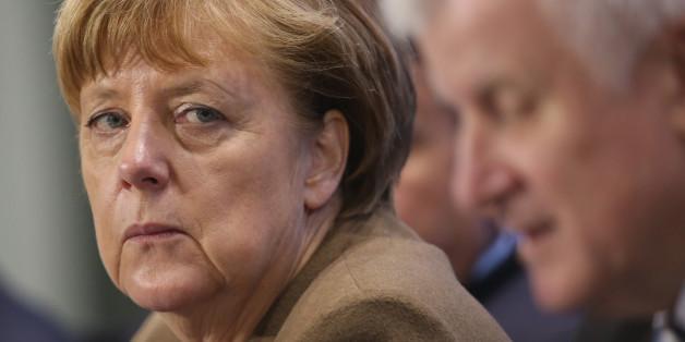 Angela Merkel und CSU-Chef Horst Seehofer