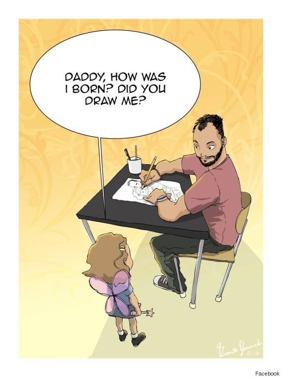 single dad illustration 1
