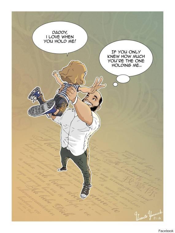 single dad illustrations 2