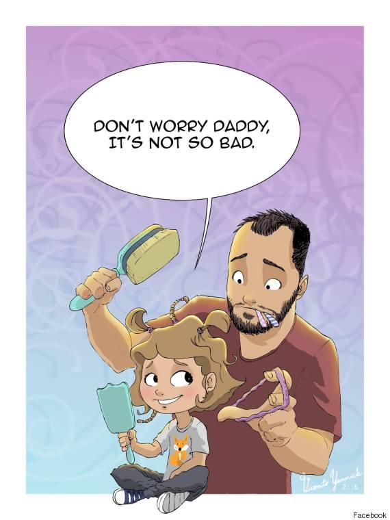 single dad illustrations 3