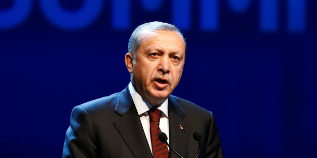 Turkish President Tayyip Erdogan speaks during the opening ceremony of the World Humanitarian Summit in Istanbul, Turkey, May 23, 2016. REUTERS/Osman Orsal