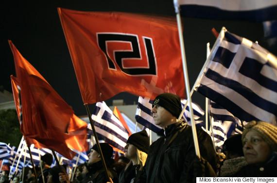 far right protest greece