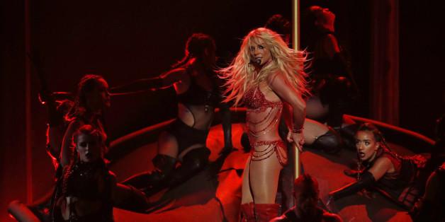 Britney Spears performte bei den Billboard Awards in Las Vegas - und wollte danach einfach einen Cheesburger
