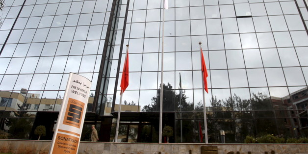A general view of the headquarters building of Algerian state energy company Sonatrach in Algiers, Algeria, February 8, 2015. After a deep slide in oil prices, Algeria's state energy company Sonatrach is shifting strategy to offer foreign companies direct negotiations over 20 oil and gas fields in a bid to draw in wary investors and increase output. Picture taken February 8, 2015. REUTERS/Ramzi Boudina        EDITORIAL USE ONLY. NO RESALES. NO ARCHIVE