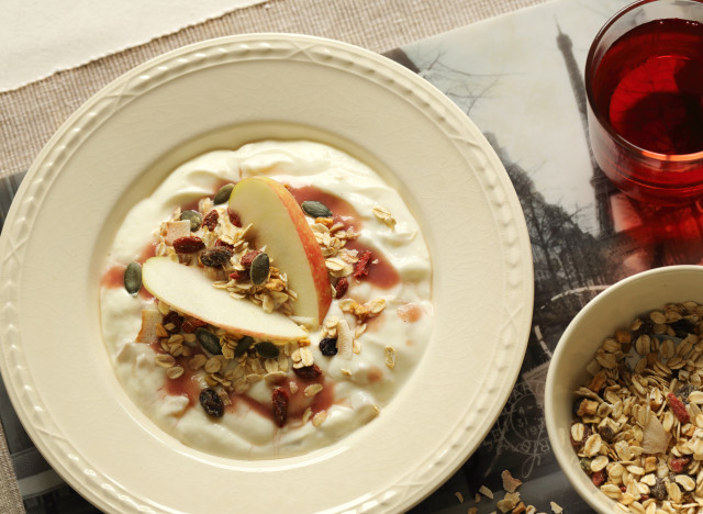 oats and curd