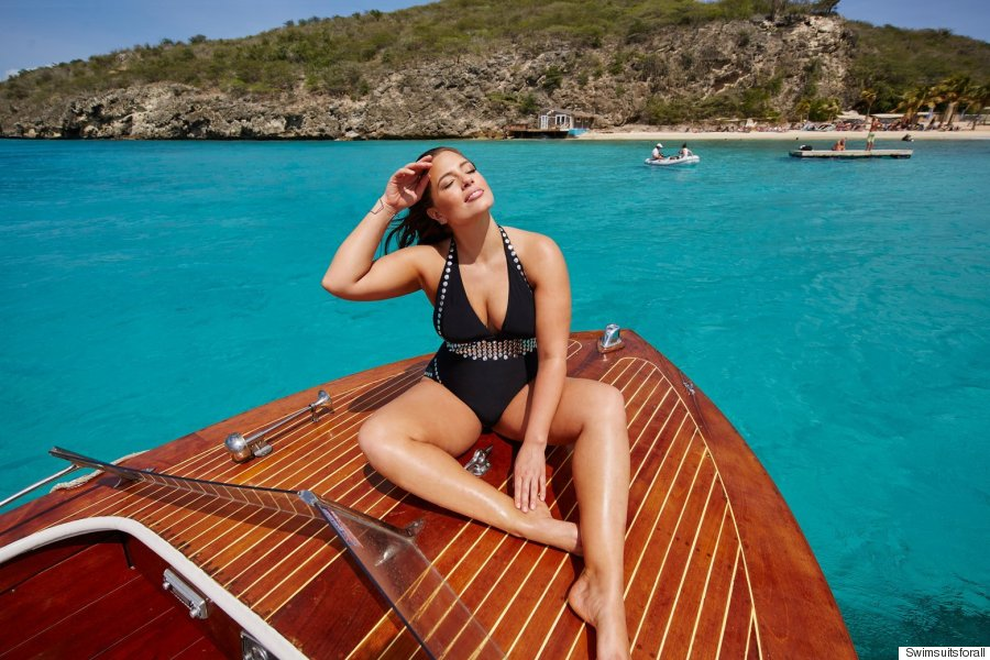 ashley graham launches 007inspired swimsuit line for