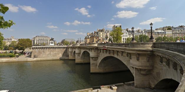 Die Seine, der Stadtfluss von Paris, soll gesäubert werden